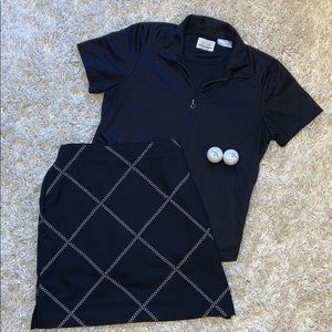 Adorable Golf Set by EP Pro Polo and Skort